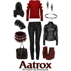 """League of Legends: Classic Aatrox (feminine)"" by rhosaucey on Polyvore"