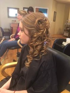 Updo and makeup contest
