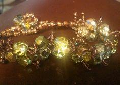 Ireland Bracelet (design, Gail Lafler)