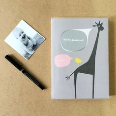 A lovely journal that provides structured pages with written guidelines as well as open-ended pages for all the memories.