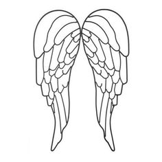 Angel wings wall decor ❤ liked on Polyvore featuring home, home decor, wall art, black metal wall art and angel wing wall art