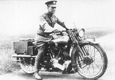 Lawrence of Arabia was known to have purchased a 1925 Brough Superior SS100 and would later die due to head injuries (he wasn't wearing a helmet) after he crashed on one in 1935.