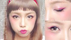 Japanese Harajuku Makeup (Zipper Inspired)   MADOKEKI makeup reviews, tutorials, and beauty