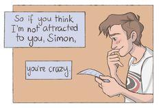 Amor Simon, I Love Books, Books To Read, Love Simon Movie, Jacques A Dit, Simon Spier, Becky Albertalli, Youre Crazy, Cute Gay