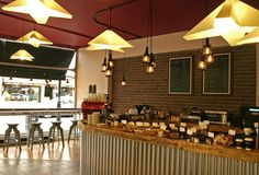 cool coffe house interikors | 1280x720 px) Interior Design Photo : Artistic Coffee Shop Design