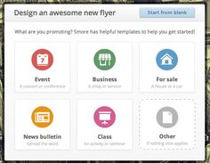 SMORE - Make online flyers for your library for free!