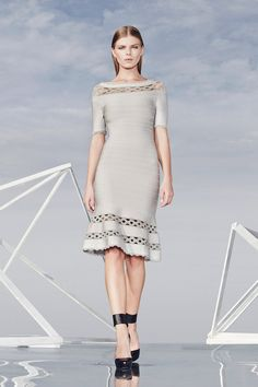Like. Hervé Léger by Max Azria | Pre-Fall 2014 Collection | Style.com