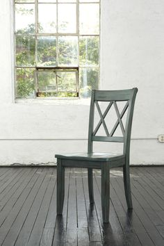 Mestler Blue & Green Dining Room Side Chair (Set of 2) (D540-101)   Ashley