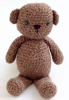 2000 Free Amigurumi Patterns: Free amigurumi pattern for Buddy Bear