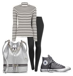 """""""Weekender"""" by carlafashion-246 ❤ liked on Polyvore featuring MANU Atelier, Converse, LE3NO, Oasis, women's clothing, women, female, woman, misses and juniors"""