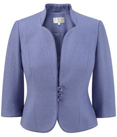 CC - Petite Scallop Edged Collar Jacket - £113