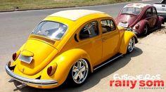 Nice VW in Yellow - Classic VW custom