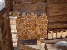 Технология глиночурка или по буржуйски - cordwood