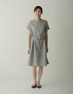 Ray Dress: Mouette – Shop Fog Linen