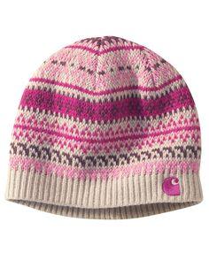 473ac26bfd7f6 Carhartt Women s Folk Pattern Hat Cute Beanies