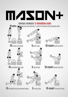 Mason Plus Workout