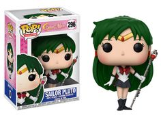 This wave of Sailor Moon Pop!s includes Sailor Neptune, Sailor Saturn, Sailor Uranus - complete with her Space Sword, the law abiding Sailor Pluto, and Sailor Chibi Moon! Sailor Chibi Moon, Sailor Pluto, Sailor Neptune, Sailor Moon Funko, Pop Sailor Moon, Pop Vinyl Figures, Funko Pop Figures, Sailor Mercury, Sailor Scouts