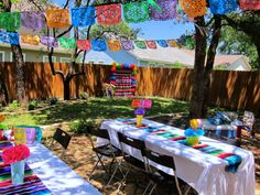 Fiesta First Birthday: Part 2 - The Decor Mexican Birthday Parties, Mexican Fiesta Party, Fiesta Theme Party, Party Themes, Party Ideas, Taco Party, Theme Parties, Theme Ideas, Mexican Theme Baby Shower