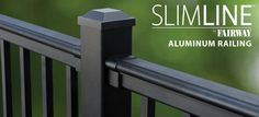 SlimLIne Aluminum Railing By FAIRWAY. Kit's Available in 6′ and 8′ Level, 8′ Stair Level 8, Stairs, Kit, Building, Outdoor Decor, Home Decor, Stairway, Buildings, Staircases