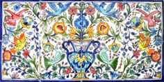 DECORATIVE-CERAMIC-TILES-MOSAIC-PANEL-HAND-PAINTED-KITCHEN-BATH-WALL-MURAL-ART