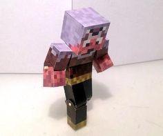 Minecraft Character Bendable Papercraft Generator!!!!!