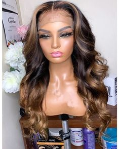 Black Wigs Lace Frontal Lace Frontal Middle Part Wig Best Flat Iron For Black Hair 2019 Short Haircuts For African Women Dark Brown Wig Dark Ash Blonde Hair, Long Blonde Wig, Hair Blond, Dyed Blonde Hair, Brown Hair, Human Hair Lace Wigs, Curly Wigs, Lace Hair, Wig Hairstyles