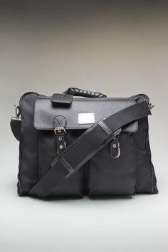 "Ossington York Bag Black - 17"" x 13"" x 5.5"""