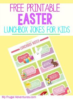 Pop these into a lunchbox, Easter egg or Easter bag and guarantee a smile from your child.