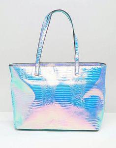 670c5ddb54234 Skinnydip Cosmo Iridescent Shoulder Bag at asos.com
