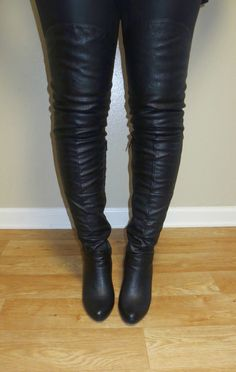 Stretch-Leather-Boot-Pants - Made to Measure | Stretch-Leather