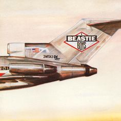 "Beastie Boys - Licensed To Ill (1986)  ""We kind of carefully assembled the plane from photographs,"" said designer Steve Byram. ""A bit like the way air accident investigators reassemble a crashed plane.""  Created with ink and collage, before computer graphics were prominent, the front cover of the record depicts the tail end of the Beastie Boys' jet (or at least their fantasy idea of a jet). The plane raps around the cover then wraps itself, figuratively, around a mountain side."