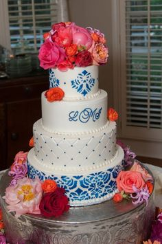 Ballroom Beauty Wedding Cake