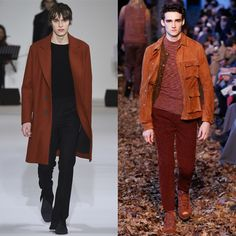 The main trends of Fall - Winter 2016/2017 Menswear  No.8 Copper  #fashion #trend #review #fall #winter #2016 #fw2016 #menswear #copper #colour #style #man #look #menstyle #menfashion #good #outfit #ootd #new #season #collection #runway #fashionshow #gentleman #jds #wooyoungmi #missoni The review was prepared by Julia Soldatova, an expert of JDS