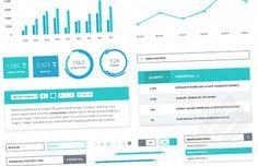Medialoot - Flat Dashboard UI Kit 2