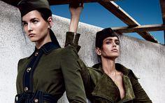 Scarica sfondi Alina Ilie, Amanda Weelsh, photomodels, di bellezza, di belle ragazze