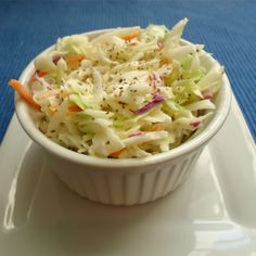 Create your own homemade copycat version of KFC cole slaw with this easy dressing recipe >>> Did it for dinner tonight & it was a hit! Woo Hoo!