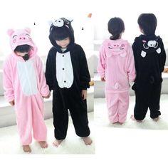 Pig Kindren Onesies Kigurumi Sleep Suit Huispak