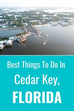 Cedar Key in Florida is a great alternative to Key West if you love island vibes, fresh seafood, kayaking, sunsets, sunrises, and friendly locals. Check out this list of the best things to do in Cedar Key Florida. #travel #Florida #CedarKey #vacations #islands Cedar Key Florida, Old Florida, Florida Vacation, Florida Travel, Family Vacation Destinations, Travel Destinations, Vacations, Best Places To Camp, Cool Places To Visit