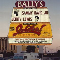 Stopped in this hotel while in #Vegas - #Bally's Las Vegas. Look at the cool line up they had back in the day. (They still have the Jubilee show today).