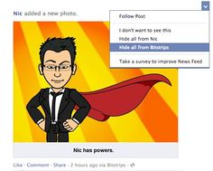 How To Block Bitstrips From Your Facebook Timeline