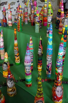 paper mache gnomes