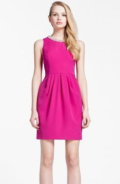 $230 Cynthia Steffe 'Hazel' Embellished Sheath Dress | Nordstrom