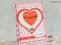 Love Balloon (Twinkle Lane Designs) Sis Loves, Love Balloon, Be My Valentine, Twinkle Twinkle, Balloons, Cards, Design, Globes
