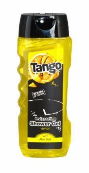 Tango Invigorating Shower Gel 400ml Lemon Beware of the bite! With Aloe Vera