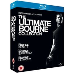 BARGAIN The Ultimate Bourne Collection [Blu-ray] JUST £7.84 At Amazon - Gratisfaction UK Bargains #bargains #bluray #bourne #film