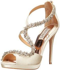 Women's Fashion High Heels :    Badgley Mischka beauties  - #HighHeels https://youfashion.net/shoes/high-heels/trendy-womens-high-heels-badgley-mischka-beauties/