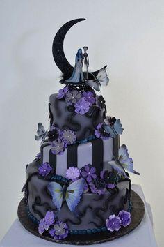 la sposa cadavere torta