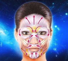 Makeup and hair pros share 55 unexpected beauty hacks that work wonders Beauty Hacks That Work, Facial Yoga, Face Exercises, Mascara Wands, Dark Lipstick, How To Apply Mascara, Homemade Beauty Products, Shiny Hair, Dark Circles