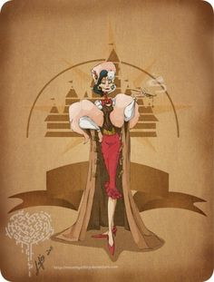 steampunk-disney-characters