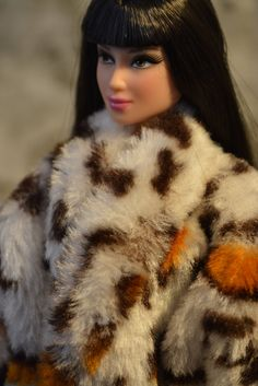 Faux Fur Coat for Barbie by ashestobeauty on Etsy, $20.00